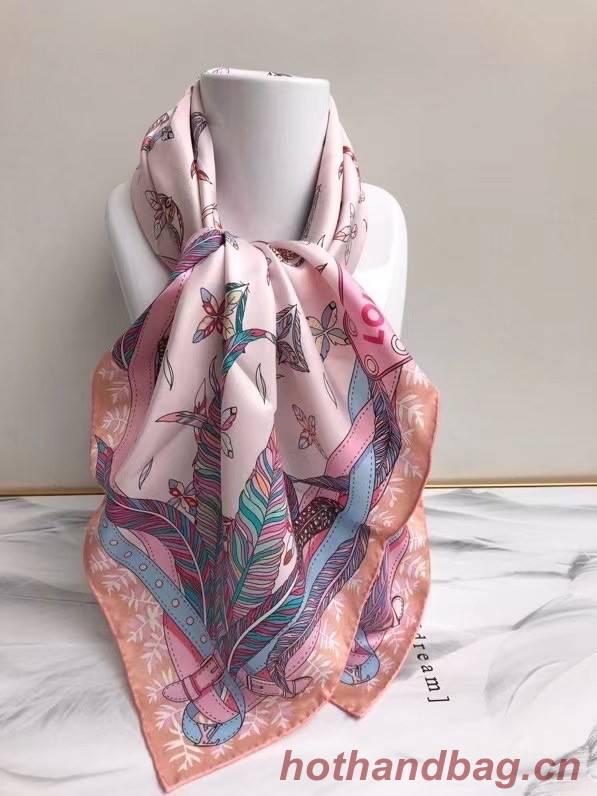 Louis Vuitton silk Scarf 77037