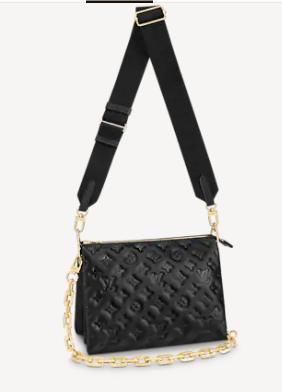 Louis Vuitton COUSSIN PM M57793 black