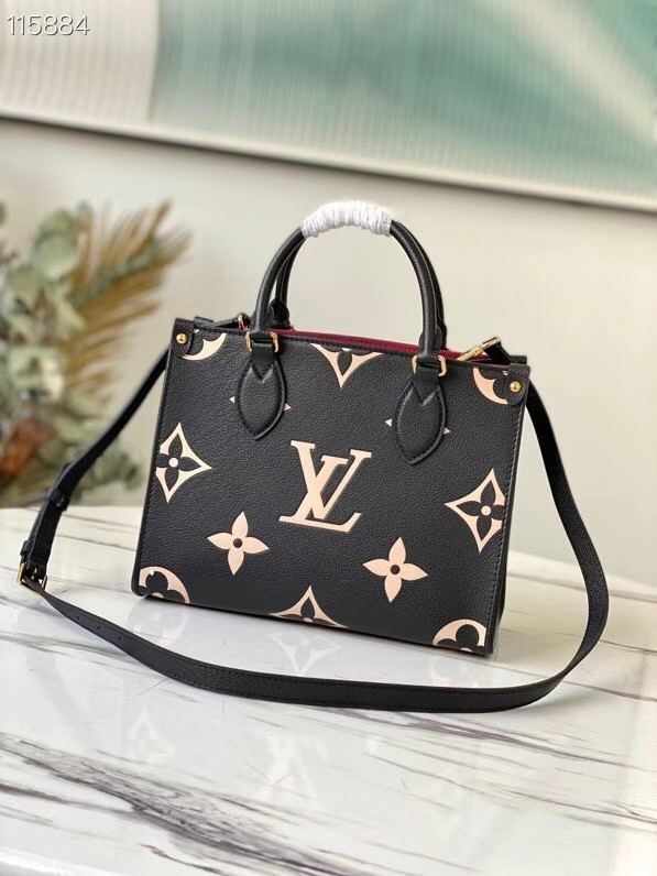 Louis Vuitton ONTHEGO PM - EXCLUSIVELY ONLINE M45654 black