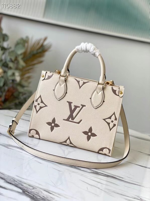 Louis Vuitton ONTHEGO PM - EXCLUSIVELY ONLINE M45654 cream