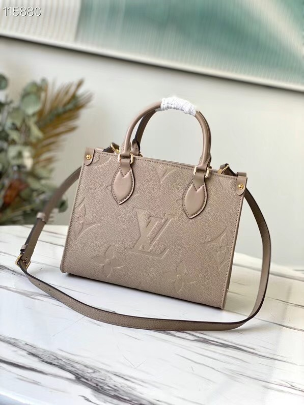 Louis Vuitton ONTHEGO PM - EXCLUSIVELY ONLINE M45660 Tourterelle Beige