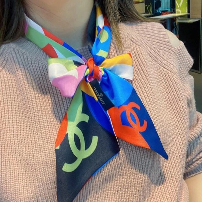 Chanel Twilly Small silk scarf CC45699