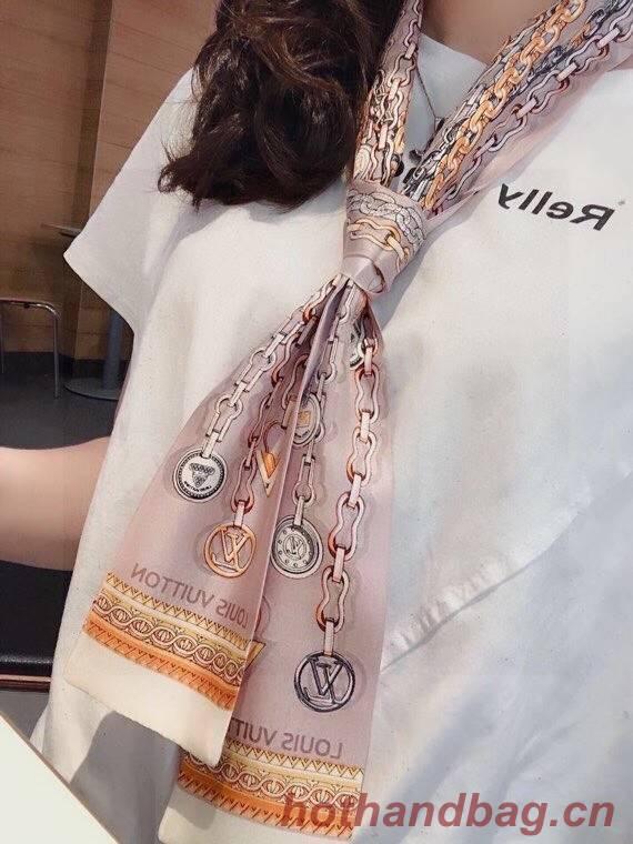 Louis Vuitton Twilly Small silk scarf CC45700
