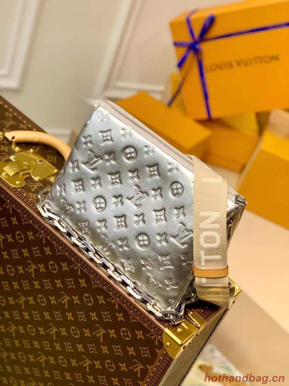 Louis Vuitton COUSSIN PM M57793 silver