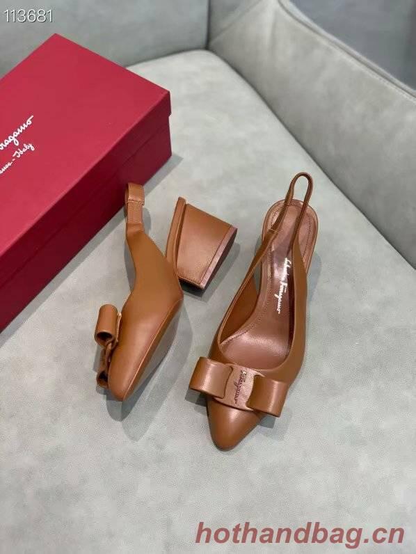 Ferragamo Shoes FL969FCC-3 5CM height