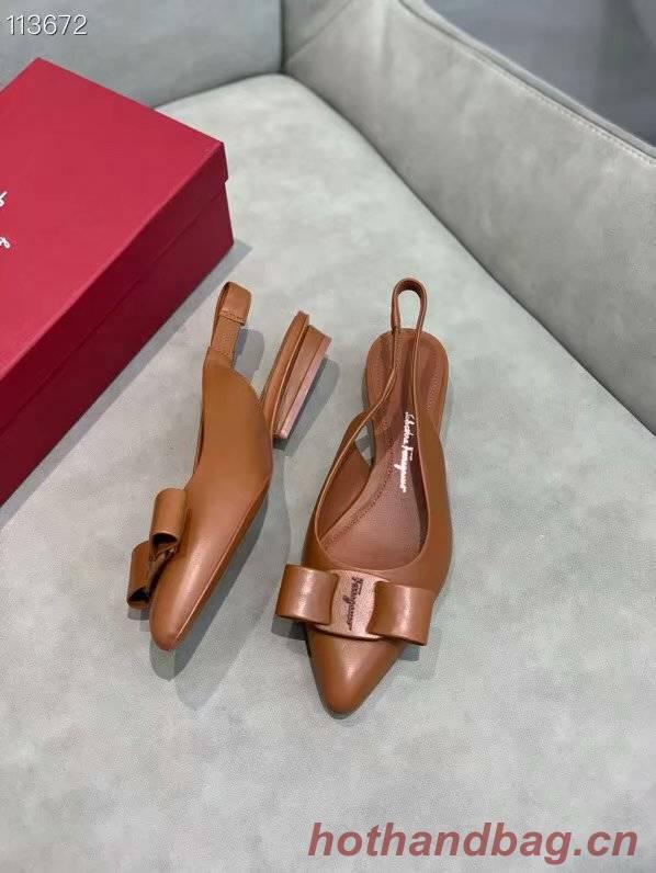 Ferragamo Shoes FL970FCC-3 2CM height