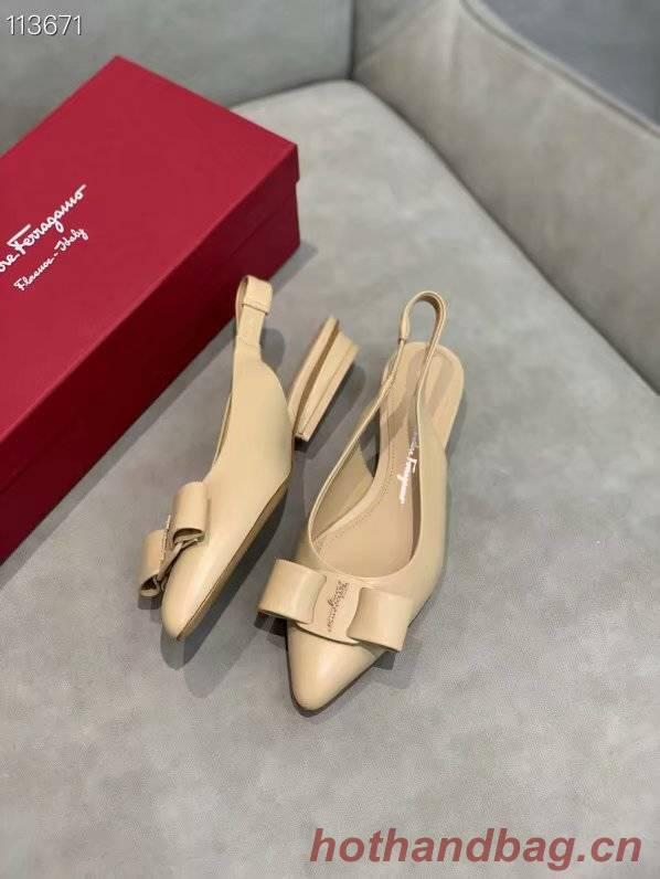 Ferragamo Shoes FL970FCC-4 2CM height