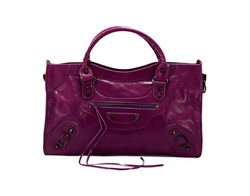 Balenciaga Classic City Bags Purple