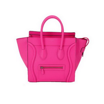 Celine Large Luggage Bags in Rosy Oxhide