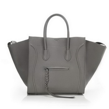 Celine Phantom Original Leather Bags Khaki