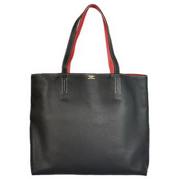Hermes Shopping Bag 36CM Totes Clemence Black
