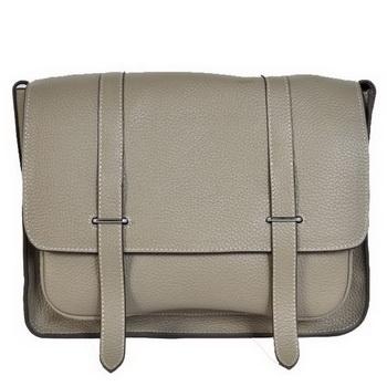 Hermes Steve 32CM Mens Bag Clemence Grey