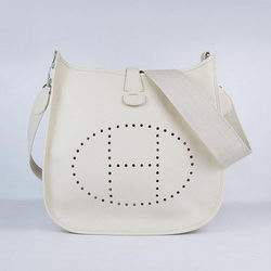 Hermes Evelyne Messenger Bag 6309 Beige