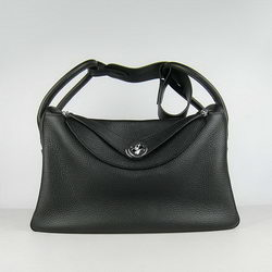 Hermes Lindy 34CM Shoulder Bag 6208 Black