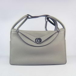 Hermes Lindy 34CM Shoulder Bag Khaki
