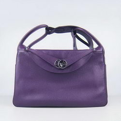Hermes Lindy 34CM Shoulder Bag Purple