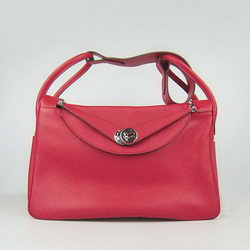 Hermes Lindy 34CM Shoulder Bag 6208 Red