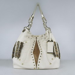 Jimmy Choo Double handles Handbag Beige 1831