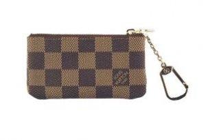 Louis Vuitton Wallets Damier Canvas Keys Pouch NM N62658