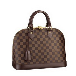 Hot Sell Louis Vuitton Damier Ebene Canvas Alma N53151