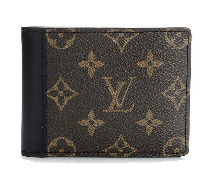 2012 Louis Vuitton Monogram Macassar Canvas Gaspar Wallet M93801