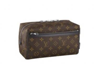 Louis Vuitton Monogram Macassar Canvas Toiletry Kit M40378