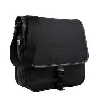 Prada V166 064 F0002 Fabric Messenger Bag