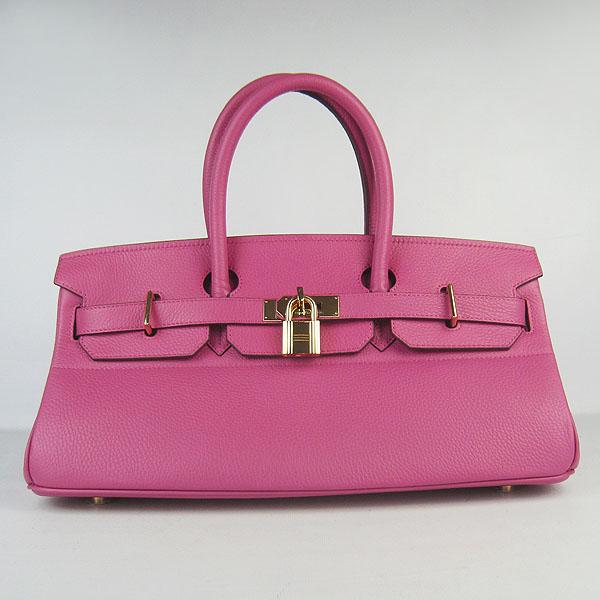 Hermes Birkin 6109 Togo Leather Bag Peachblow 42cm Gold