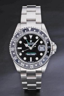 Rolex GMT-Master II Black Stainless Steel Men Watch-RM3904