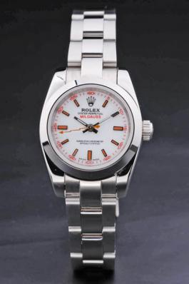 Rolex Milgauss White Stainless Steel 25mm Women Watch-RM3891