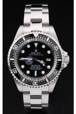 Rolex Perpetual Black Surface Men Watch-RP2891