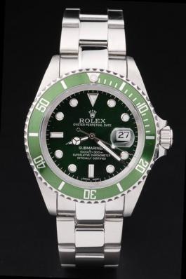 Rolex Submariner Mechanism Green&Black Surface Watch-RS2420