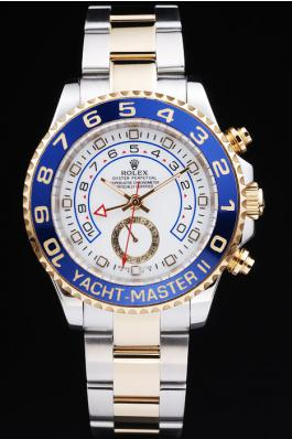 Rolex Yacht-Master II Blue Bezel&White Surface Watch-RY3333