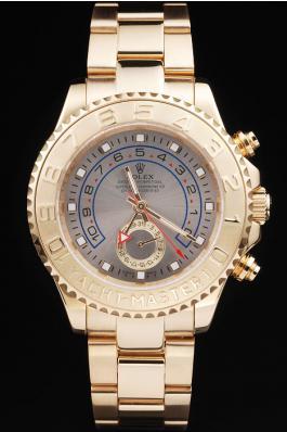 Rolex Yacht-Master II Golden Bezel&White Surface Men Watch-RY333