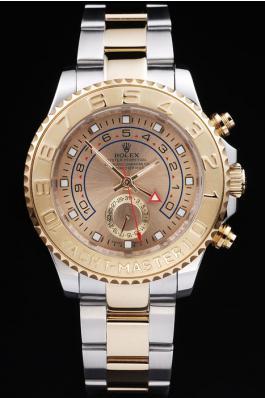 Rolex Yacht-Master II Golden Surface Watch-RY3340