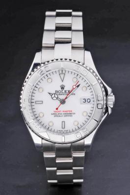 Rolex Yacht-Master II Silver Bezel&White Surface Watch-RY3905