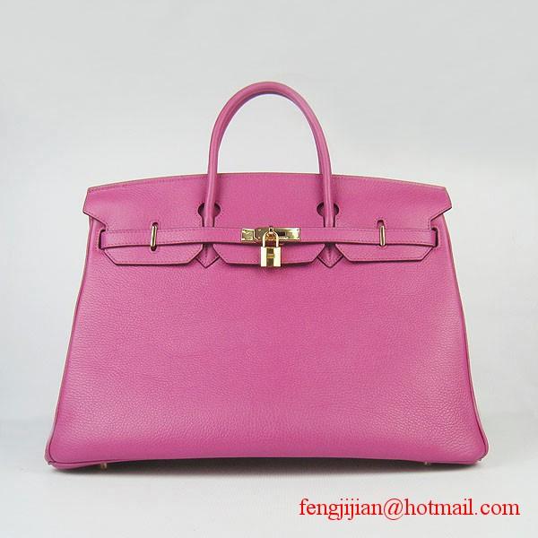 Hermes Birkin 40cm Togo Bag Peachblow 6099