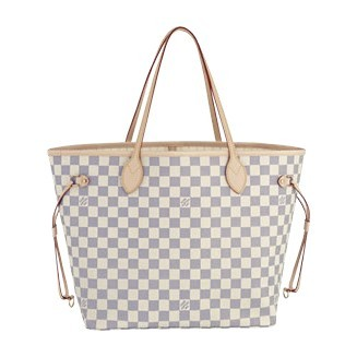 Louis Vuitton Damier Azur Canvas Neverfull MM N51107