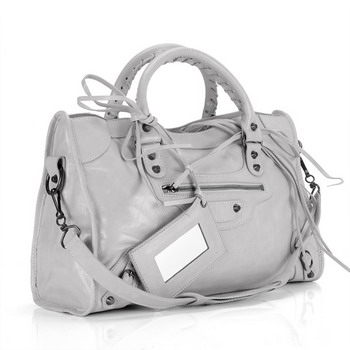 Balenciaga City Bag 084332 Light Grey